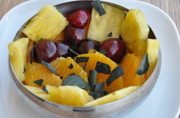 Recetas con Espirulina – Macedonia de frutas con espirulina