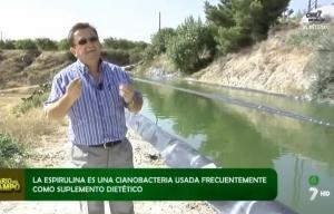"""ASN Espirulina en la 7 Región de Murcia """"Diario del campo"""""""