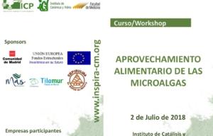 ASN Espirulina en el curso de aprovechamiento alimentario de las microalgas de la universidad de Madrid