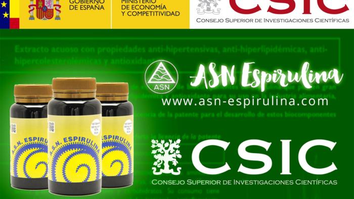 Estudio del CSIC (Instituto de Catálisis y Petroleoquímica) sobre nuestra Espirulina