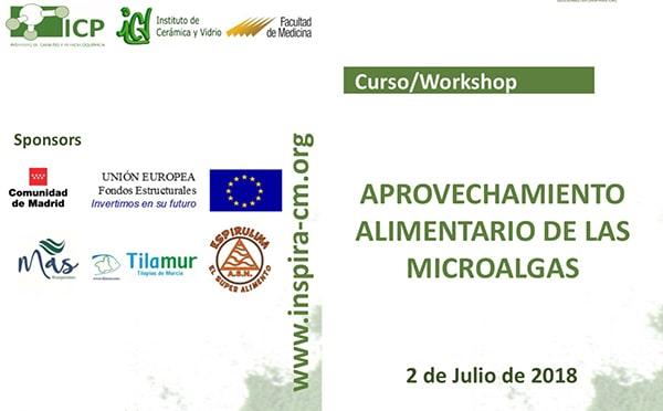 Curso de aprovechamiento alimentario de las microalgas en la Universidad de Madrid