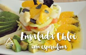 Recetas con Espirulina – Ensalada Chloé