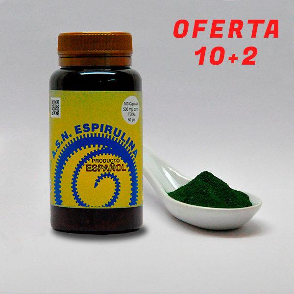 Espirulina en polvo de ASN LEADER - Espirulina 100% natural cultivada en España