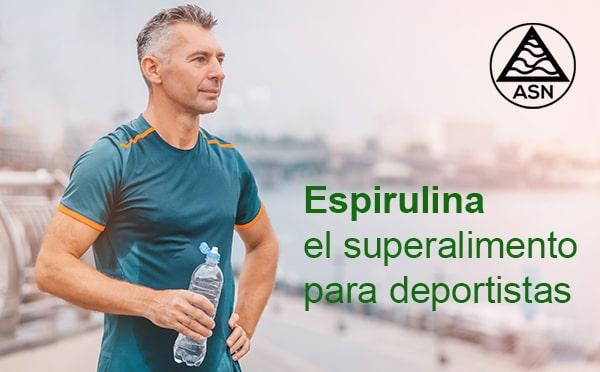 ASN Espirulina, el superalimento para deportistas