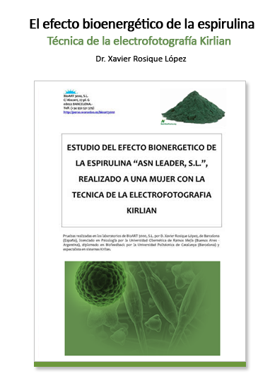 Estudio bioenergético de la Espirulina ASN Leader