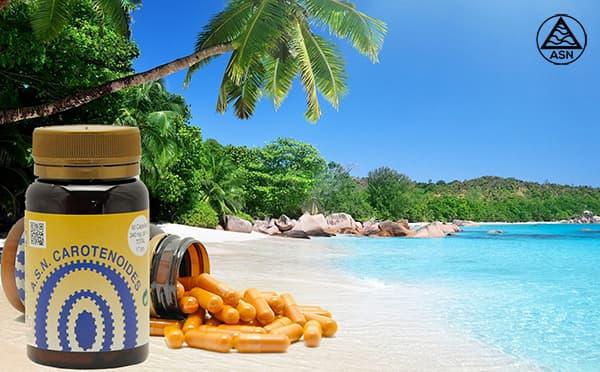 Los carotenoides y la exposición al sol